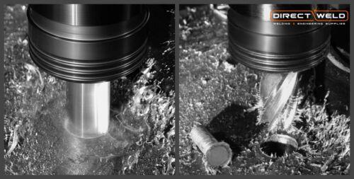 Größen: 12-32mm Schnitttiefe 30.0mm Terrax Bohrer HSS Weldon Schaft 1.9cm