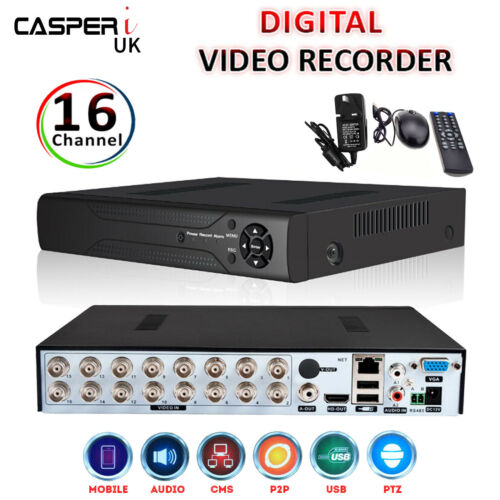 4//8//16//32 Channel 1080P 2MP DVR CCTV AHD Video Recorder Network Cloud P2P HDMI