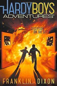 Deception-on-the-Set-Hardy-Boys-Adventures-by-Franklin-W-Dixon