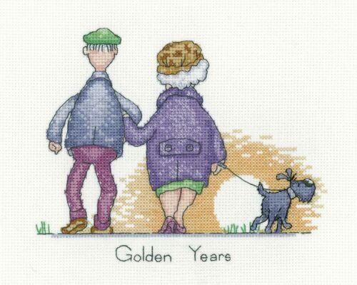 Golden Years Heritage Crafts Cross Stitch Kit