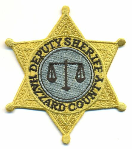 DUKES OF HAZZARD DEPUTY SHERIFF BADGE PATCH - DOH2