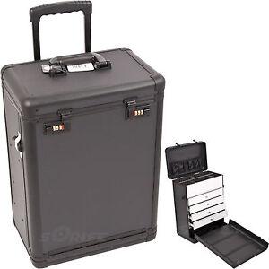Tattoo carrying case num locking aluminum portable - Porta piercing ...