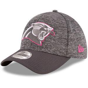 d3e437fc8af Carolina Panthers New Era Gray Pink 2016 Breast Cancer Awareness ...