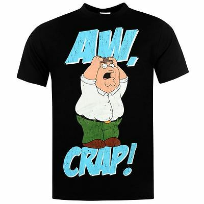 Family Guy Peter Griffin Aw Crap New Officially Licensed Various Sizes T-Shirt