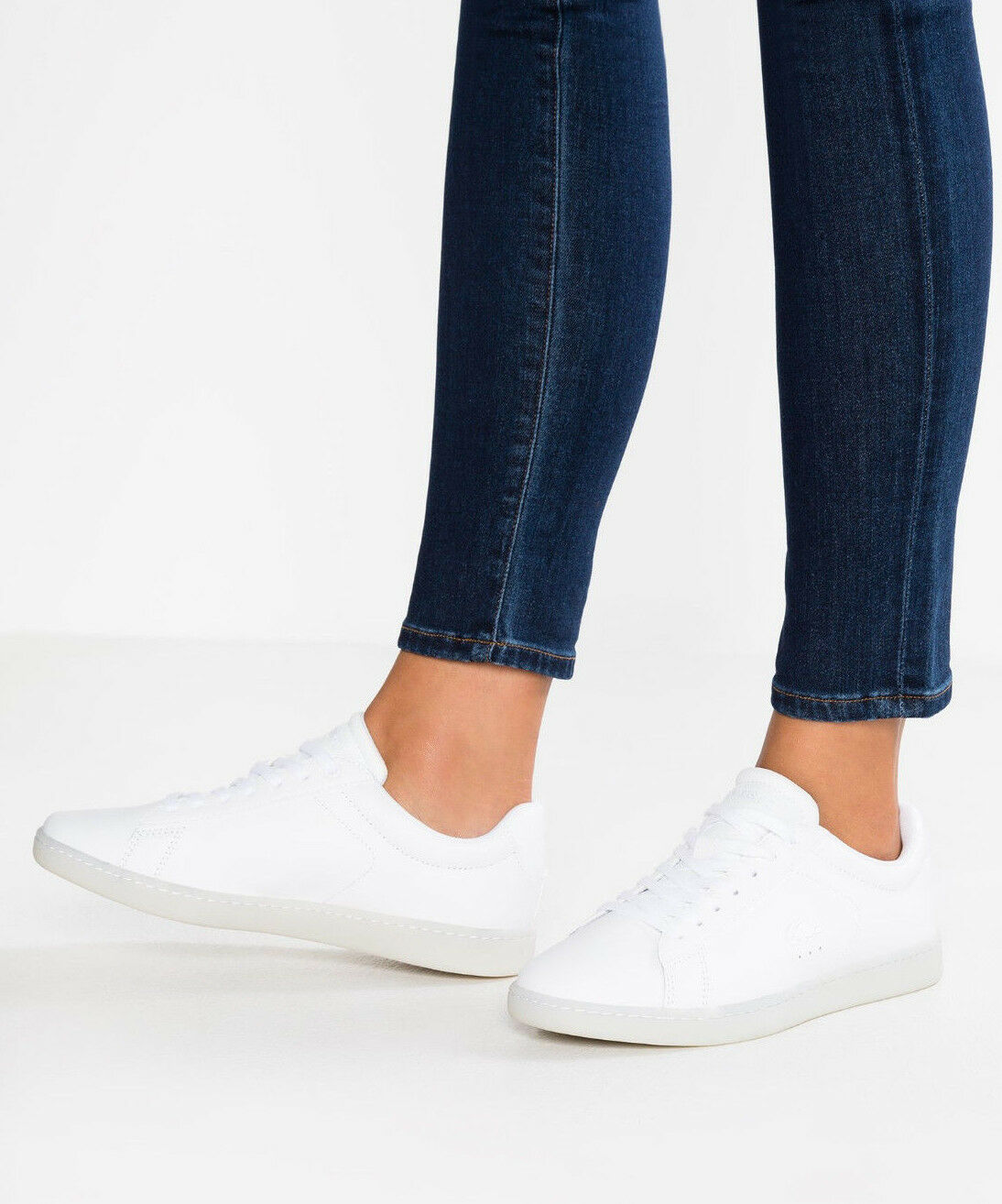 Womens Lacoste shoes Carnaby EVO 118 3 SPW White 735SPW0010 21G Sneakers NEW