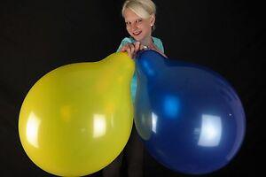 10-x-grosse-BSA-17-034-Luftballons-in-gemischten-Kristallfarben-Crystal-Colors