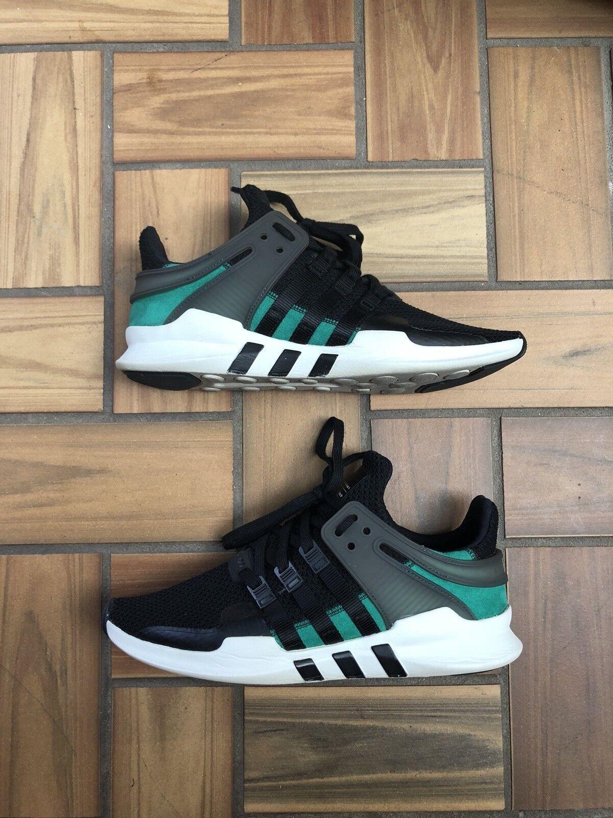 Adidas Originals EQT Support ADV 91 - 16 / Mens 10.5 / Black Sub Green White