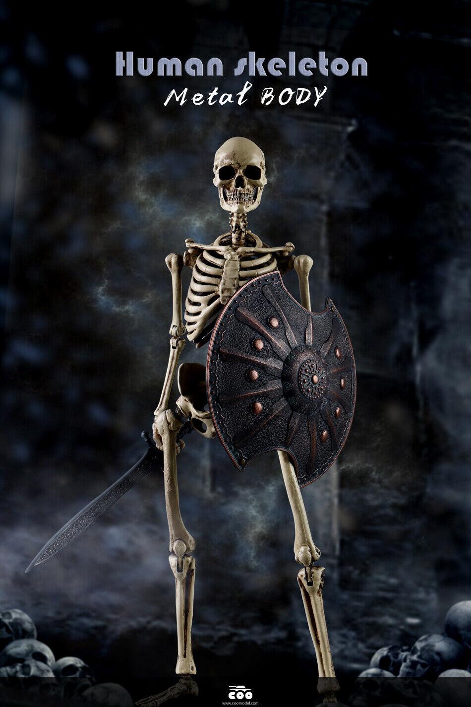 Pre-order COOMODEL 1 6 NOBS011 Skeleton Metal Body