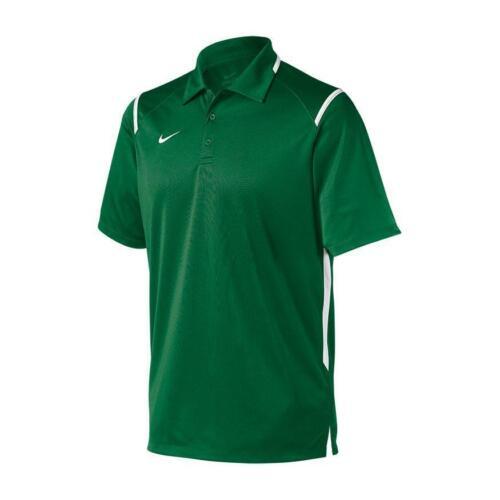 Nike Football Gameday Short Sleeve Polo 3-Button Men/'s M L 2XL Green 658085-342