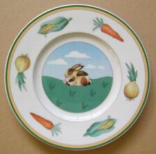 "Villeroy & Boch Rabbit Design Plate 6 3/4"""