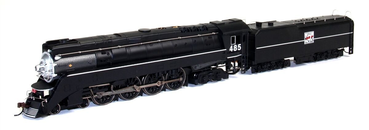 HO BACHMANN 4-8-4 WP GS-4 WESTERN PAIFIC DCC LOCO & TENDER   485 WESTERN PACIFIC