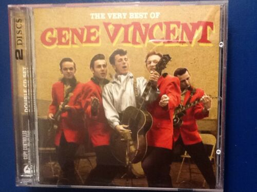 1 of 1 - GENE.  VINCENT.         VERY. BEST. OF.  GENE. VINCENT.         TWO DISC BOXSET