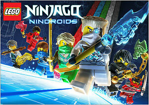 Lego-Ninjago-Giant-Poster-Art-Print-A0-A1-A2-A3-A4-Sizes-Available