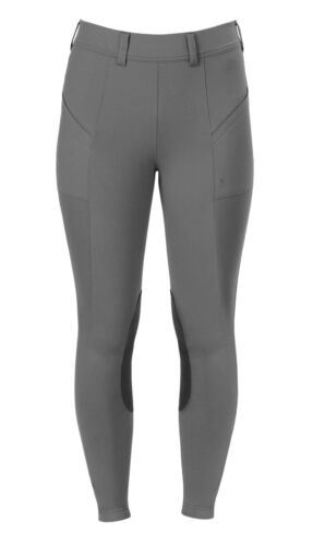 Irideon Women/'s Bending Line Riding Tights with Moisture Wicking and Pockets