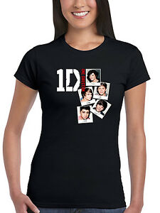Official-One-Direction-Photo-Pile-Femmes-T-Shirt-1D-Liam-Niall-Harry-Zayn