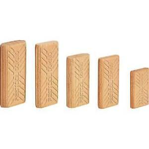 6mm x 40mm Beech Festool #494939 Domino Tenons 190 Pieces