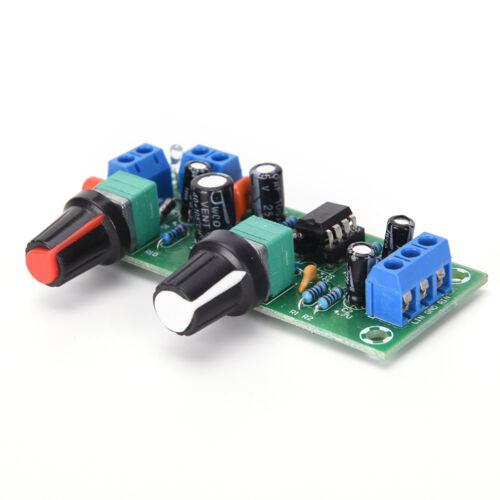 DC 12V-24V Low-pass Filter NE5532 Subwoofer Process Pre-Amplifier Preamp Board