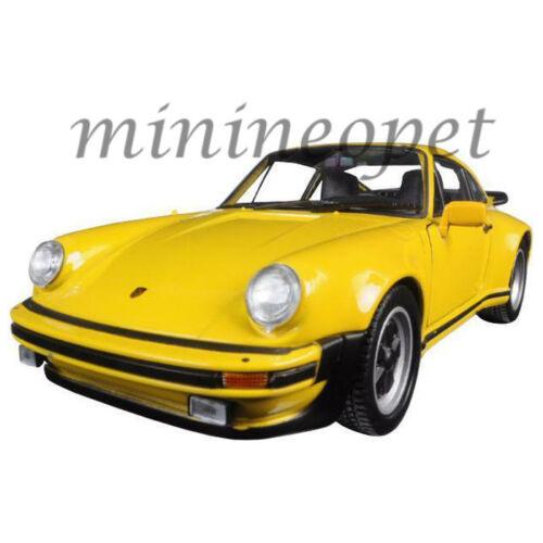 WELLY 24043 1974 PORSCHE 911 TURBO 3.0 1//24-1//27 DIECAST MODEL CAR YELLOW