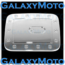 Triple Chrome Fuel Gas Door Cover Fit 13-16 2013-2016 Nissan Pathfinder SUV Trim
