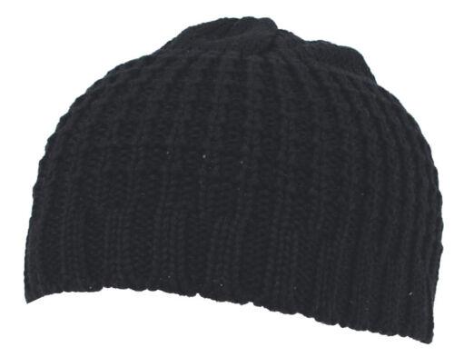 MFH Bonnet Beanie Noir Mailles Bonnet Hiver Casquette kurzmütze tissu Casquette