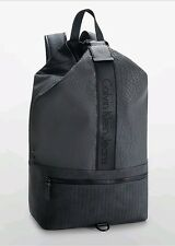 New calvin klein mens barrett draped backpack charcoal