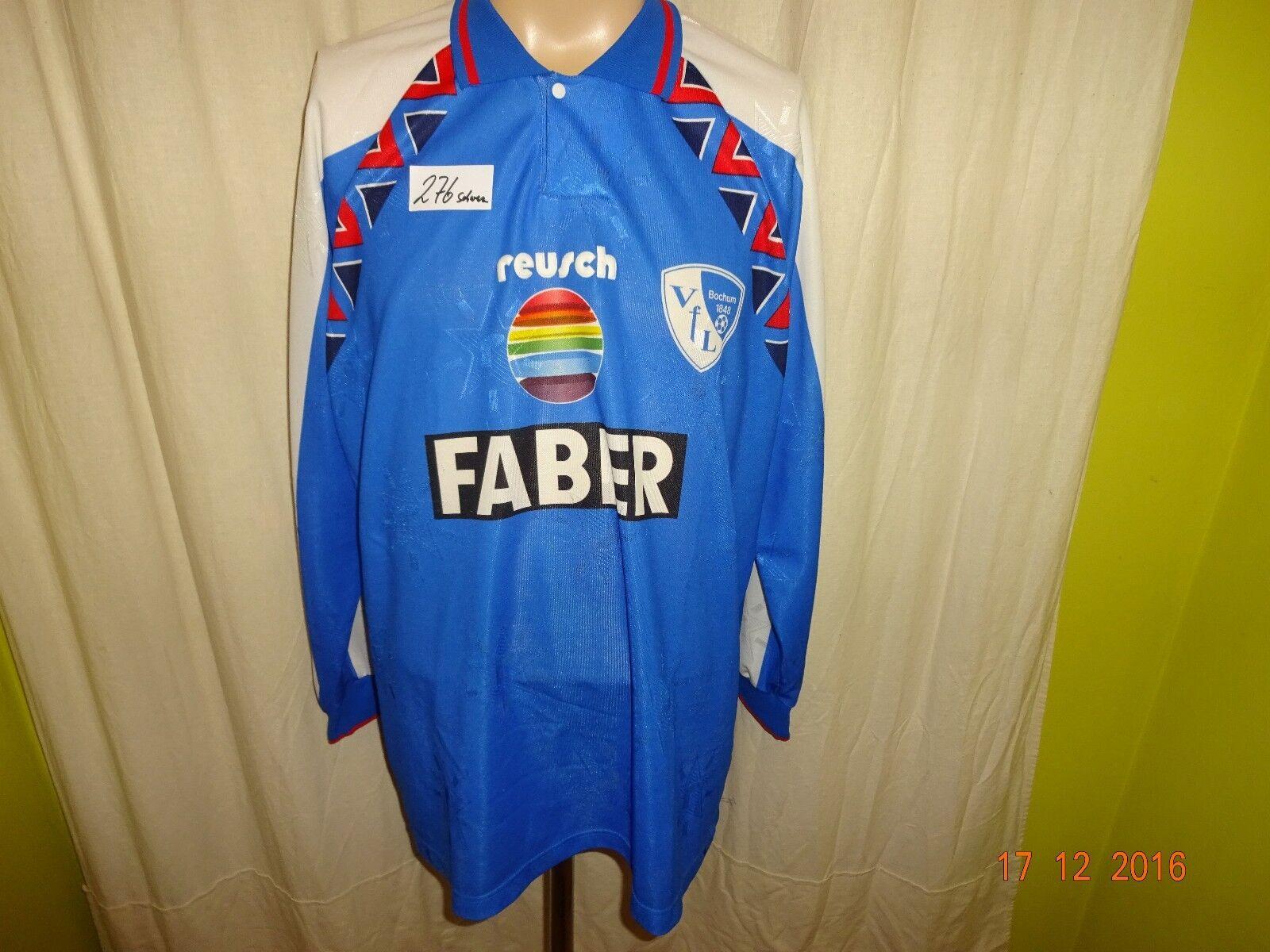 VfL Bochum Original reusch Langarm Heim Trikot 1993 94  Faber  Gr.XXL TOP    Exquisite (mittlere) Verarbeitung