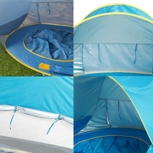 Baby Beach Tent Popup Canopy Shade Pool UV Protection for Infant Sun Shelter