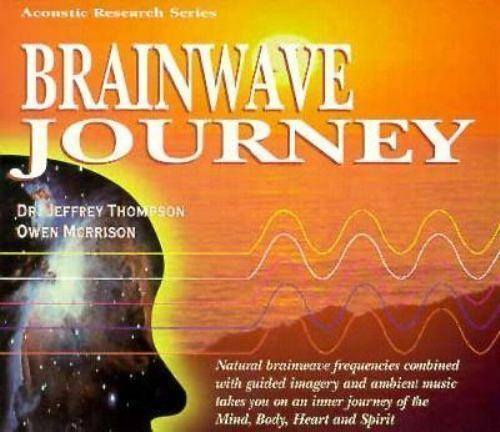 Brainwave Journey by Jeffrey Thompson (1996, Compact Disc) New Sealed