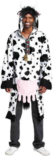 Kuh mit Euter Karneval Fasching Kostüm S-XXL 44-62