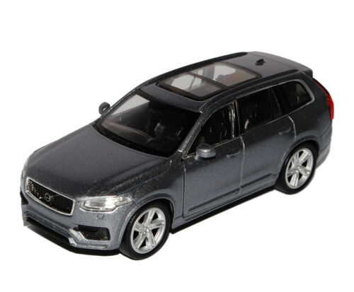 43 1//36-1//46 modelo de coche... Volvo XC90 SUV Grau 2 º generación de welly 2015 ca 1