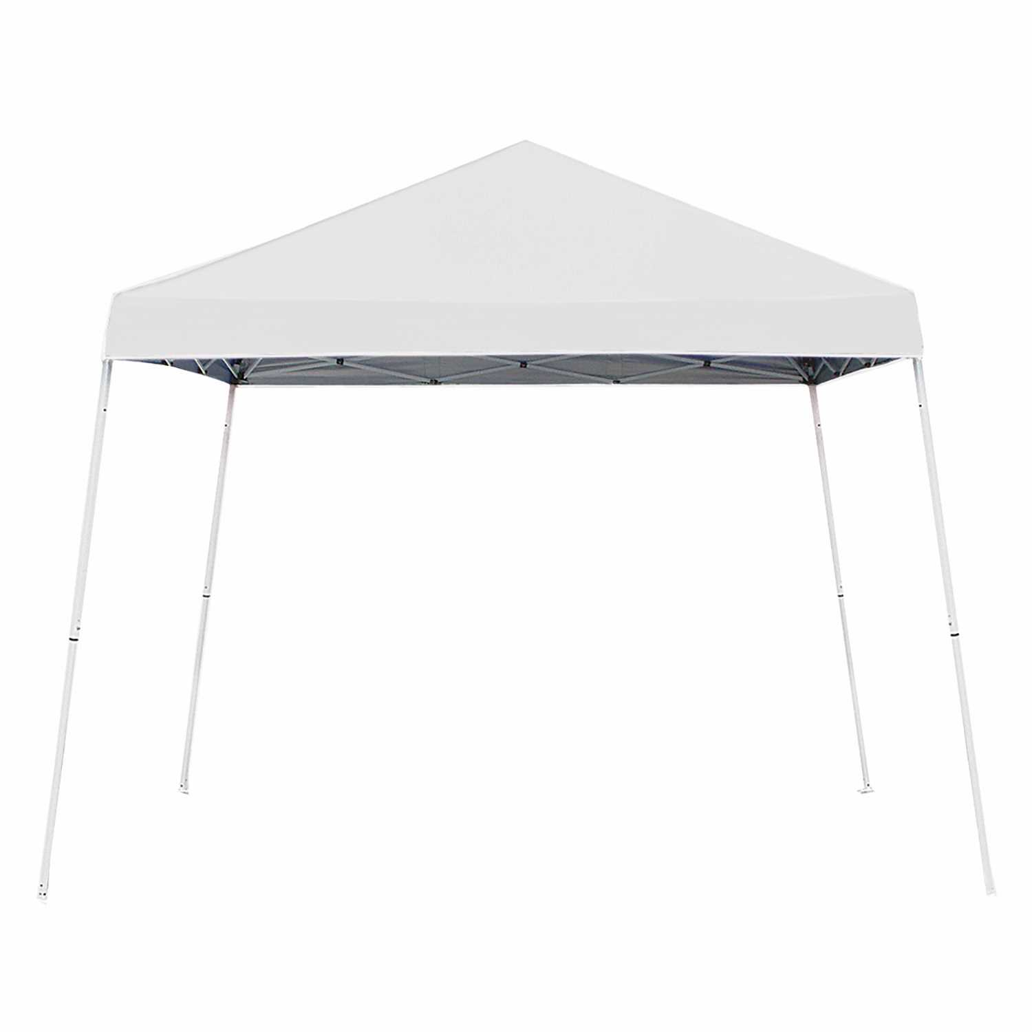 Z Shade 10' x 10' Outdoor Outdoor 10' Portable Weiß Canopy Tent + Screen Shelter Attachment 19d9ce