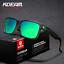 KDEAM Men Polarized Sport Sunglasses Outdoor Driving Fishing Square Glasses New