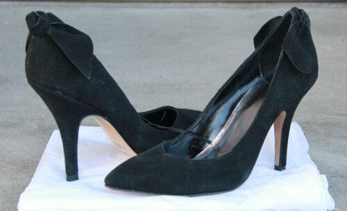 Gap accentués escarpins en femmes noir 7 pour m taille neuf daim AfTwqAB