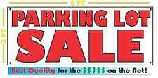 Parking Lot Sale Banner Sign 2x5
