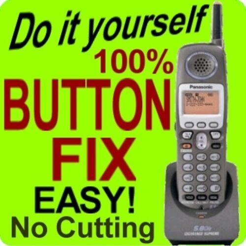 100% Panasonic Keypad Button Fix KX-TGA520M KX-TGA650B KX-TG5240M KX-TG5243M