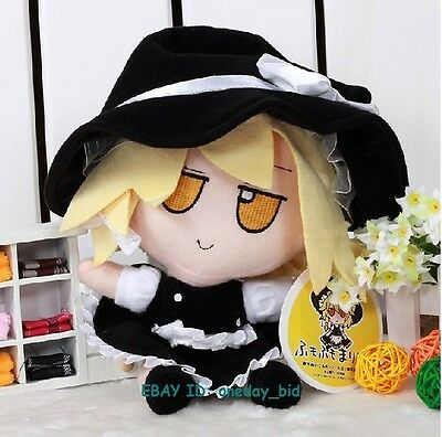 "NEW Small Nice Touhou Project  Kirisame Marisa Plush Doll Toy 8""H"