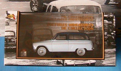 SIMCA ARONDE RANCH 1961 1961 1961 NOSTALGIE N° 104 1 43 BLEU CIEL BLEU CIEL SKY bleu 4bd8ee