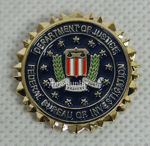 federal bureau of investigation deptment of justice hat or lapel pin 32558. Black Bedroom Furniture Sets. Home Design Ideas