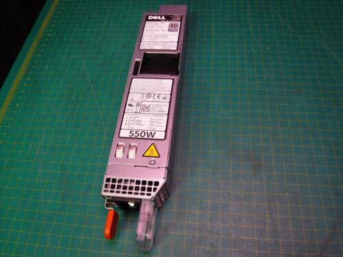 Dell PowerEdge R320 R420 550W Hotswap Server Power Supply L550E-S0 PS-2551-1D-LF