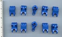 Lego X 10 Blue Bionicle Fist With Axle Hole
