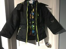 656f1a2daf3e Big Chill Little Girls  Expedition Bomber Black 5 6 for sale online ...