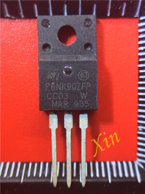 20PCS STP6NK90ZFP P6NK90ZFP N-channel 900V 1.56Ω 5.8A MOSFET TO-220F NEW