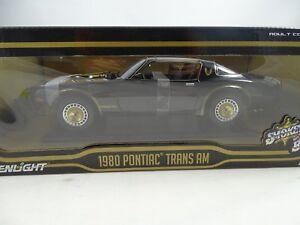 1-18-Greenlight-12829-Smokey-And-The-Bandido-II-1980-Pontiac-Trans-Am-Rareza