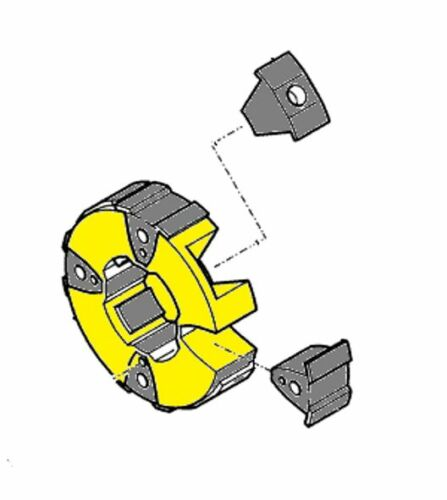 SAMSUNG  EXCAVATOR HYDRAULIC PUMP COUPLING  SE130LC-3 SE130LCM-3