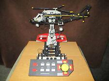 Lego Technic Control Center  Nr. 8485 mit Hubschrauber von 1995