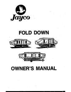 1992 jayco Cardinal Owners manual
