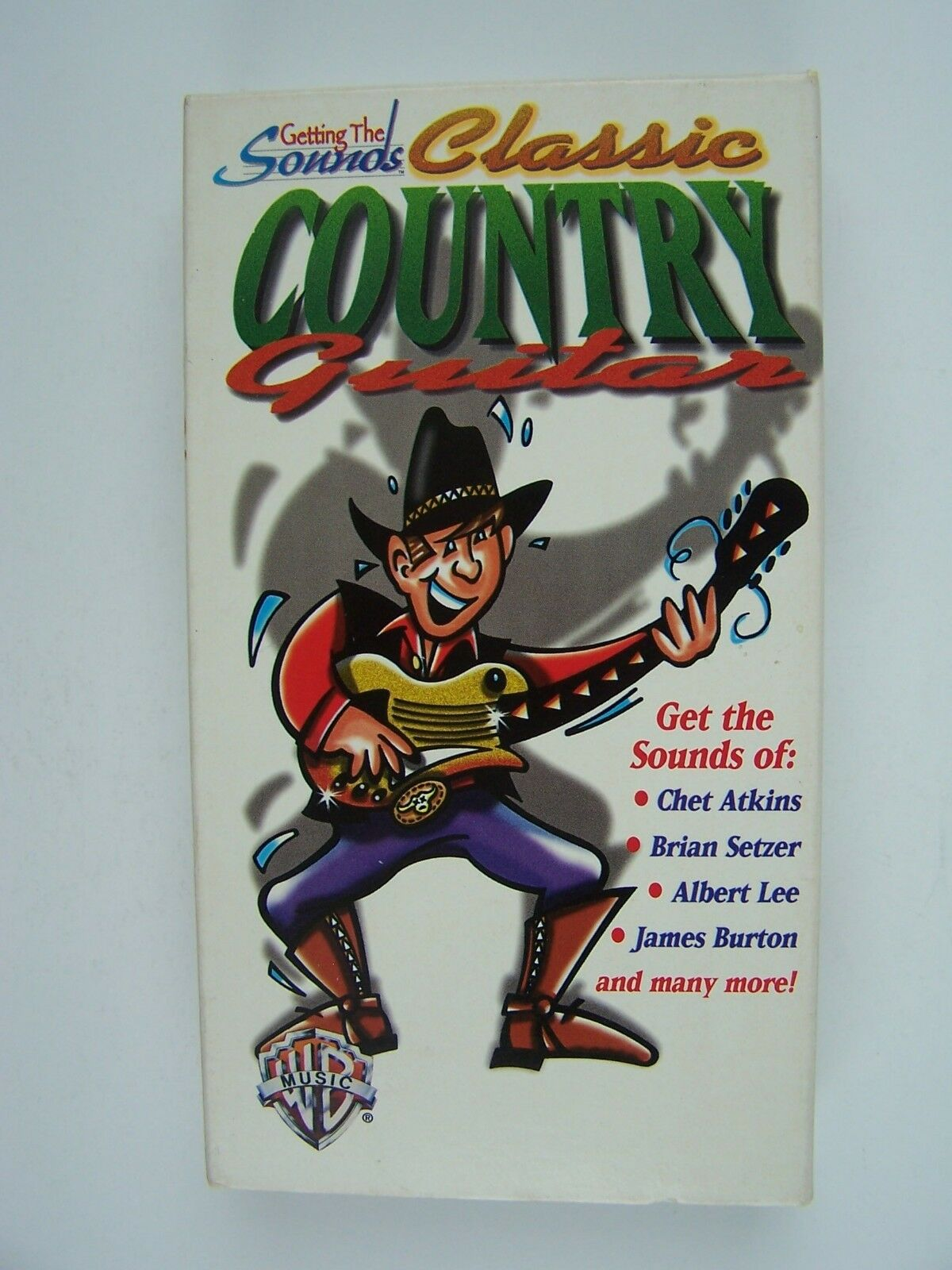 Getting The Sounds: Classic Country Guitar VHS