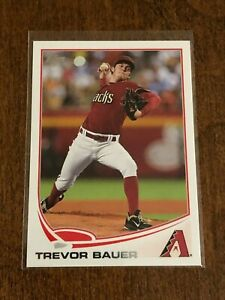 2013-Topps-Baseball-Base-Card-Trevor-Bauer-Arizona-Diamondbacks