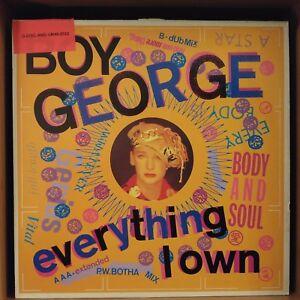 Boy-George-Everything-I-Own-Vinyl-12-034-Maxi-33-Tours