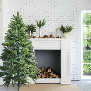 Details about  /ALEKO Premium Undecorated Artificial Holiday Christmas Tree 6 Foot Green